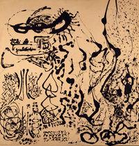 tablou jackson pollock - number 5