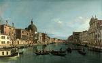 Tablou canaletto - venice - the grand canal with s. simeone piccolo