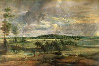 tablou rubens - flemish landscape