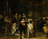 Tablou canvas rembrandt   the nightwatch