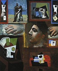 Tablou canvas picasso - estudes, 1920