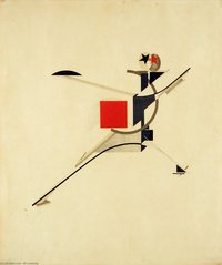 Tablou canvas el lissitzky - new man