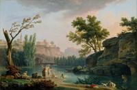 tablou joseph vernet - summer evening