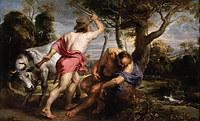 tablou rubens- mercury and argus (1636)