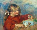 tablou Renoir - claude renoir playing, 1906