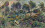 Tablou canvas renoir - landscape, 1900 02