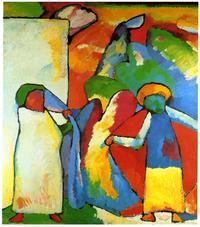 tablou kandinsky - auswahl seiner werke, gemälde und bilder