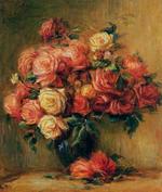 tablou Renoir - bouquet of roses, 1880 1900
