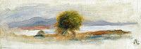 tablou pierre auguste renoir - cagnes landscape, 1910 02