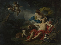 tablou pierre subleyras - diana and endymion