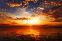Tablou canvas apus de soare (138)