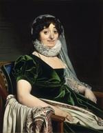 tablou jean auguste dominique ingres - portrait of the countess of tournon