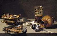 tablou pieter claesz - still life, 1627