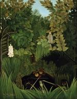 tablou henri julien felix rousseau - the merry jesters