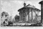 tablou piranesi - roma antica, alb negru 23