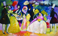 Tablou canvas kandinsky - crinolina