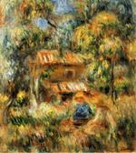 tablou Renoir - cagnes landscape 04