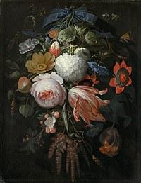 Tablou canvas flori, reproducere pictura (128), 1665