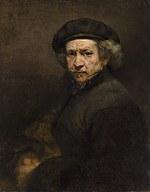 tablou rembrandt - autoportret (1659)