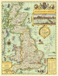 tablou shakespeare map