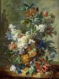 Tablou canvas flori, reproducere pictura (103), 1723