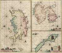 tablou Islanda, spitsberge and ian mayen eyland, 1690