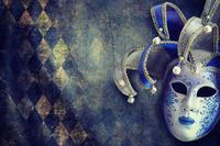 tablou masca, vintage (1)