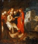 tablou jan symonsz. pynas - the raising of lazarus