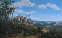 tablou frans post  - view of olinda, brazil