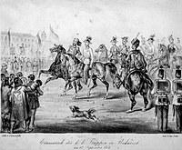 tablou bucuresti, 1854