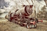 tablou locomotiva cu abur (13)