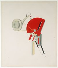 Tablou canvas el lissitzky - announcer