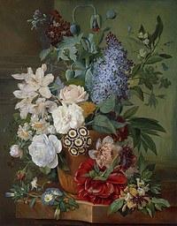 tablou flori, reproducere pictura (96), 1824