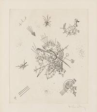 tablou wassily kandinsky - small worlds x, 1922