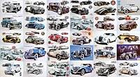 tablou masini vintage colaj (1)