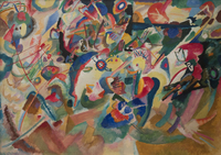 Tablou canvas kandinsky - composition 7 (2)