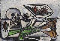 tablou picasso - still life, 1947
