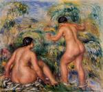 tablou Renoir - bathers, 1917