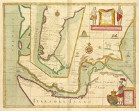 tablou magellan straights, 1704