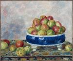 tablou Renoir - apples in a dish, 1883