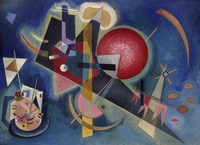 tablou vasily kandinsky - blue, 1925
