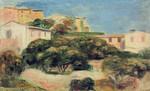 tablou renoir - view of cagnes