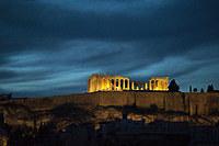tablou acropolis, grecia, noaptea (2)