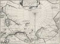 tablou Polul Nord, 1611