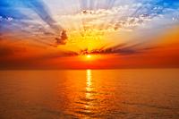 Tablou canvas apus de soare (135)
