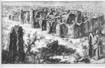 tablou piranesi - roma antica, alb negru 52