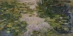 tablou claude monet - water lilies, 1917 (3)