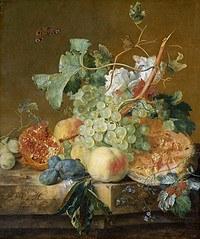 tablou flori, reproducere pictura (111), 1700