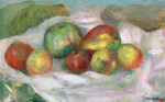 tablou renoir - still life with pears