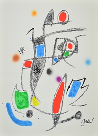 Tablou canvas joan miro - maravillas, 10 2311